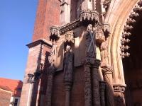 Zdobienia fasady zachodniej