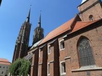 Elewacja południowa katedry