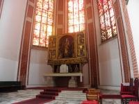Gotycki ołtarz główny