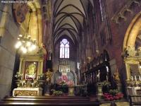 Wnętrze katedry wrocławskiej