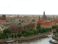 Miasto z wieży katedralnej