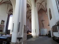 Nawa boczna kościoła św. Krzyża