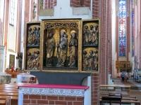 Jeden z gotyckich ołtarzy