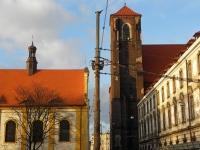 Wieża zachodnia kościoła na Piasku