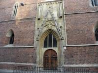 Portal zachodni kościoła na Piasku