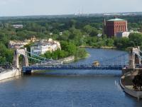 Most Grunwaldzki i rejon ul. Na Grobli