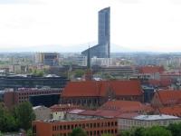 Rejon pl. Dominikańskiego i Sky Tower