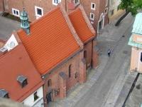 Kościół z wieży katedralnej