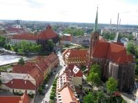 Ciąg ulicy Katedralnej i pl. Kościelny