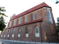Elewacja południowa kościoła