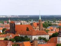 Kościół NMP z dawnym klasztorem na Piasku oraz kościół św. Krzyża