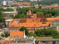 Panorama Racławicka, dawne klasztory bernardynów i dominikanek
