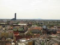 Widok na południe wzdłuż ul. Krupniczej