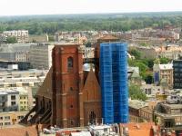 Kościół św. Marii Magdaleny - widok z wieży kościoła św. Elżbiety