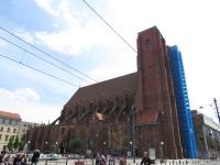 Elewacja północna kościoła