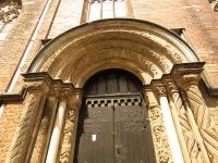 Portal ołbiński w pd. elewacji kościoła