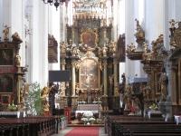 Barokowy ołtarz główny