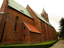 Kościół św. Jakuba - elewacja pn.