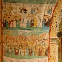 Polichromie - fragment Sądu Ostatecznego