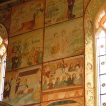 Polichromie - sceny z życia Jezusa
