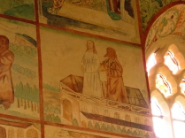 Polichromie - kuszenie w świątyni