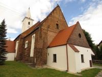 Prezbiterium i zakrystia kościoła w Pogorzeli