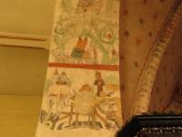 Mojżesz i św. Jerzy na podłuczu tęczowym