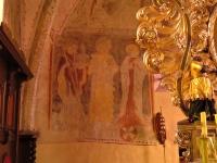 Chrystus błogosławiący ziemię (widoczny zacheuszek)