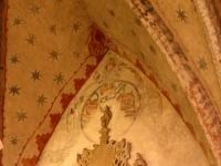 Fragment polichromii prezbiterium