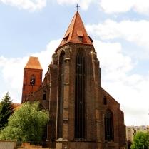 Kościół św. Mikołaja - zwieńczenie prezbiterium