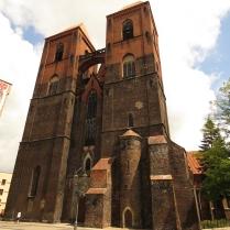 Fasada zachodnia kościoła św. Mikołaja