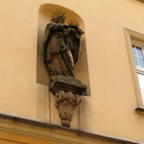 Barokowy św. Krzysztof przy rynku