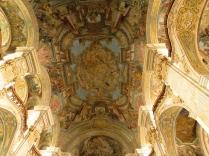 Polichomie stropu nawy