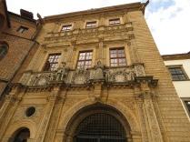 Fasada budynku bramnego