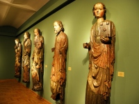 Gotyckie figury Apostołów (M. Narodowe Wrocław)