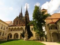 Dziedziniec pałacu biskupiego