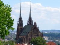Katedra z plantów pod Szpilberkiem