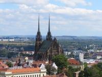 Widok z murów Szpilberku