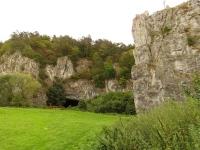 Wejście do Słupskich Jaskiń
