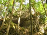 Wejście do jednej z jaskiń