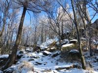 Podejście pod szczyt Ślęży