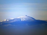 Śnieżka spod szczytu Ślęży