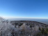Panorama spod szczytu Ślęży