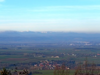 Widok z przecinki na pd. zach. zboczach Raduni