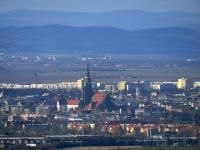 Widok na Świdnicę spod Szczytnej