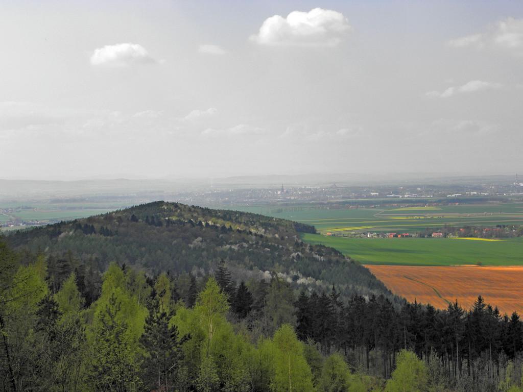 Przesieka pod Szczytną - panorama