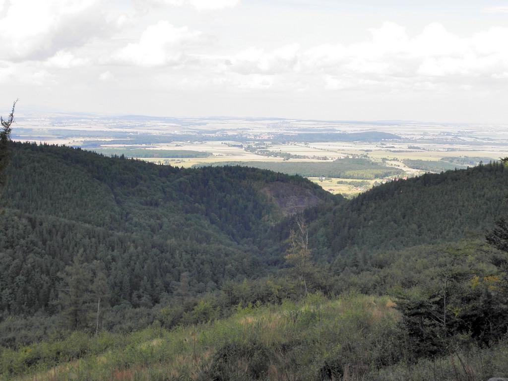 Panorama spod Kikoła - Złoty Jar