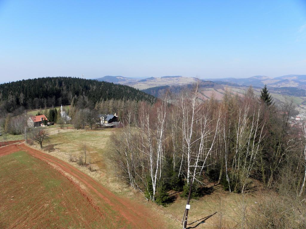 Widoki z G. św. Anny - Krępiec i Wzgórza Włodzickie