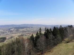 Widoki z G. św. Anny - Góry Sowie
