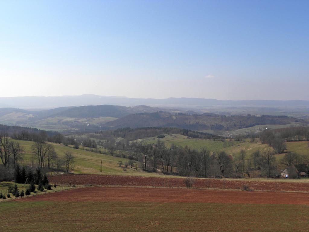Widoki z G. św. Anny - Góry Stołowe